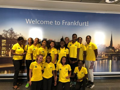 Artistic Swimming Team departs for China