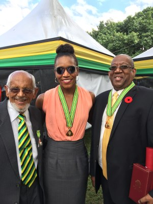 Stalwarts of the Swimming Fraternity conferred with National Honours