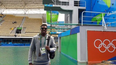 Yona wins his first ever major diving tournament